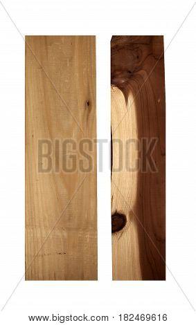 Cedar east white and Cedar aromatic wood samples