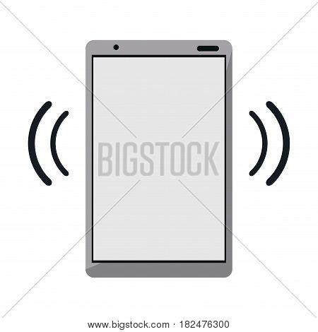 mobile phone device connection transmission vector illustration eps 10