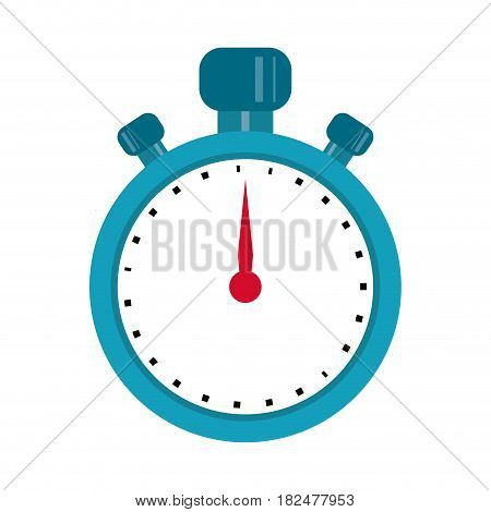 stopwatch chronometer sport equipment vector illustration eps 10