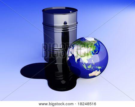 Oil Disaster - Asia.