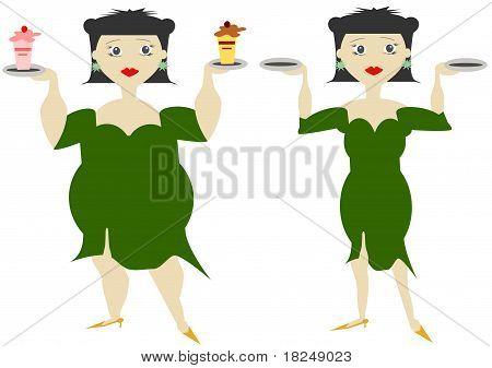 Women in diet
