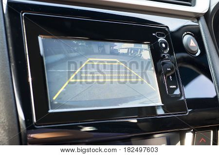 Car Rear View System Monitor reverse lcd