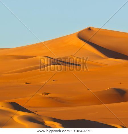 Dunes At Sunrise - Awbari Sand Sea, Sahara Desert, Libya