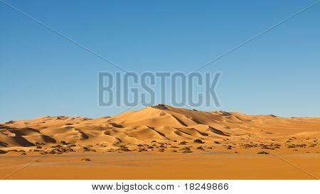 Endless Awbari Sand Sea - Sahara Desert, Libya