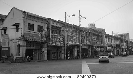 Old Buildings In Georgetown, Malaysia