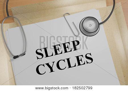 Sleep Cycles - Medical Concept