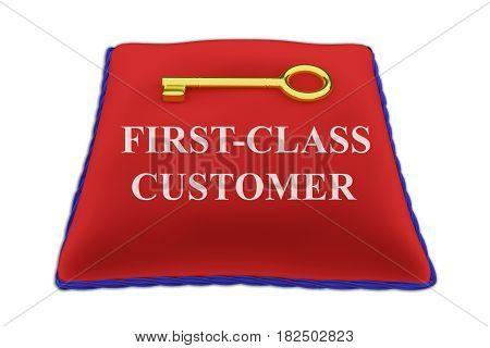 First-class Customer Concept