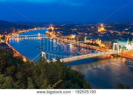 Budapest is a beautiful city split by the mighty Danube river