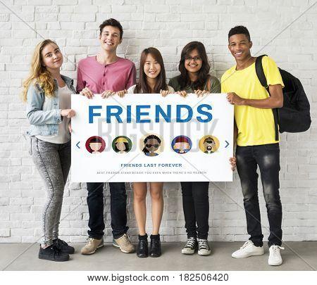 Friends Friendship Community Relationship Concept