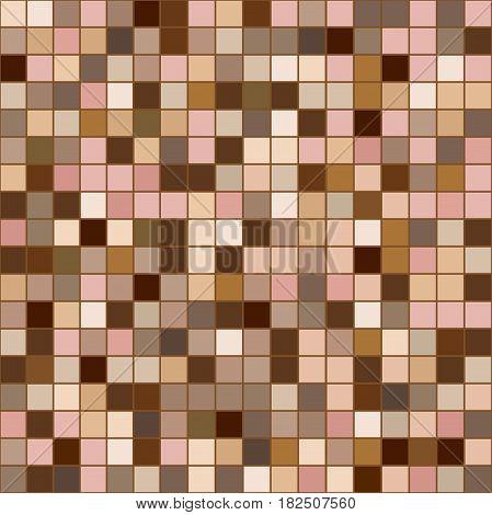 плитка пиксель пэчворк оттенков кожи из квадратов