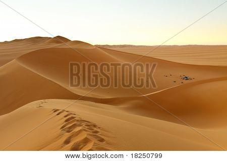 Camping In The Dunes - Awbari Sand Sea, Sahara Desert, Libya