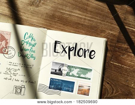 Discover Explore Travel Journey Concept
