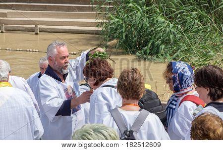 Religious Christians Celebrate Holiday
