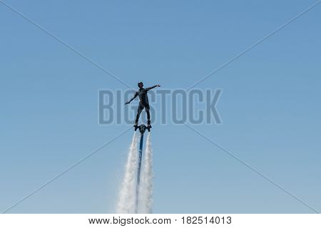 Flyboard Show During The Red Bull Air Race