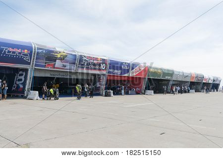 Red Bull Air Show Race Hangar