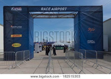 Race Airport On Display