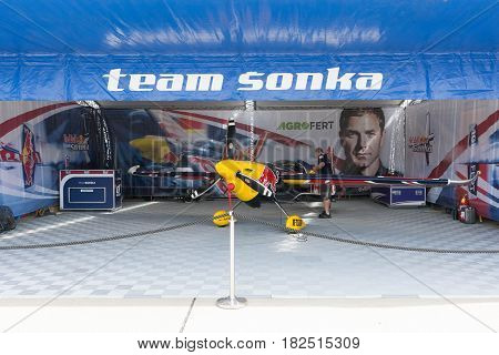 Martin Sonka Edge 540 V3 Airplane During Red Bull Air Race