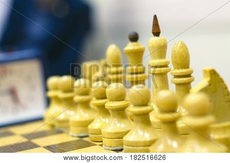 Chess Tournament, Part Of The Championship On Intelligence, Competition, Board Game