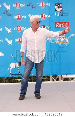 Giffoni Valle Piana Sa Italy - July 22 2014 : Richard Gere at Giffoni Film Festival 2014 - on July 22 2014 in Giffoni Valle Piana Italy