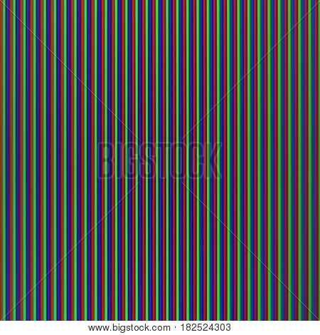 Abstract background.Pixel display RGB wall. Red Green Blue