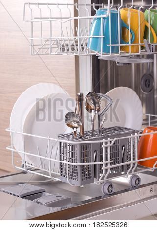 Dishware In Dishwasher