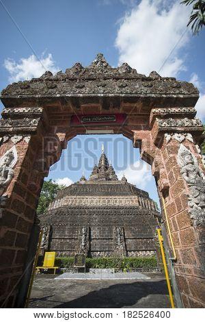 Thailand Chiang Rai Mae Sai Monkey Cave Temple