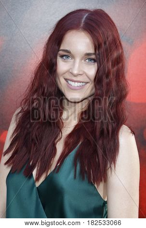 Erin Robinson at the Los Angeles premiere of 'Unforgettable' held at the TCL Chinese Theatre in Hollywood, USA on April 18, 2017.