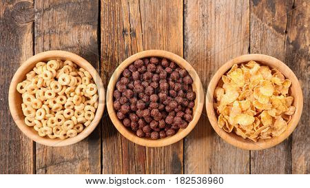 assorted of breakfast cereals