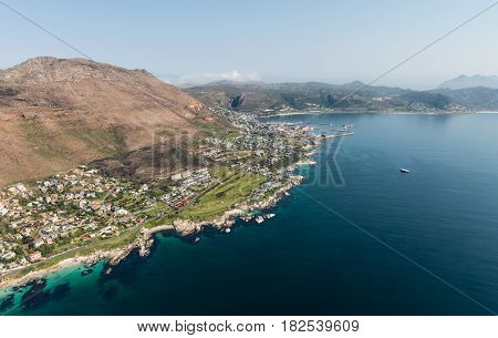 Simonstown (south Africa) Aerial View