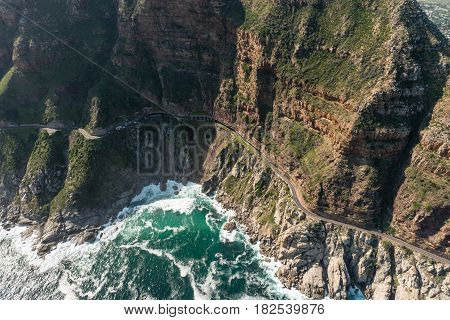 Chapmans Peak Drive (soth Africa) Aerial View