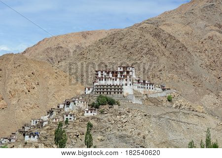 Thiksey Gompa In Ladakh, India
