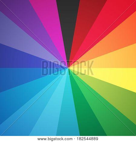 Color Circle Spectrum Eighteen