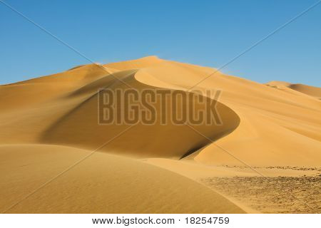 Beautiful Dune - Erg Tamesset - Sahara Desert, Libya