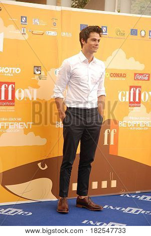 Giffoni Valle Piana Sa Italy - July 21 2014 : Dylan O' Brien at Giffoni Film Festival 2014 - on July 21 2014 in Giffoni Valle Piana Italy