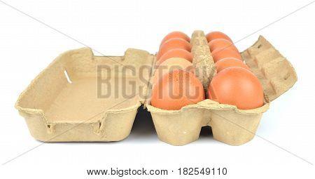 Open Box Of Eggs