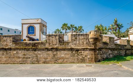 View at the Fortress Skala in Casablanca - Morocco