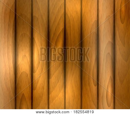 Realistic vector wooden texture in brown scale color