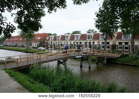 Canal In Franeker