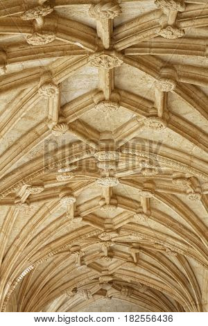 Lisbon, Portugal, April 6, 2017 : The Jeronimos Monastery Or Hieronymites Monastery (mosteiro Dos Je