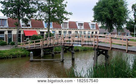 Elfsteden-bridge In Franeker