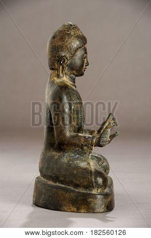 Burmese Statue Of Buddha