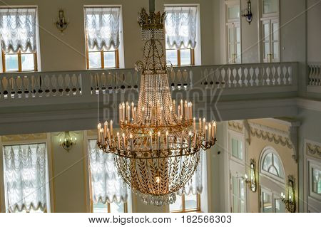 Inside The Pashkov House, Moscow, Russia