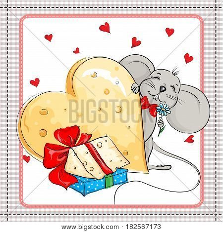 Little mouse and the big cheese gift