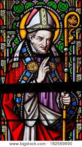 Stained Glass - Saint Alphonsus