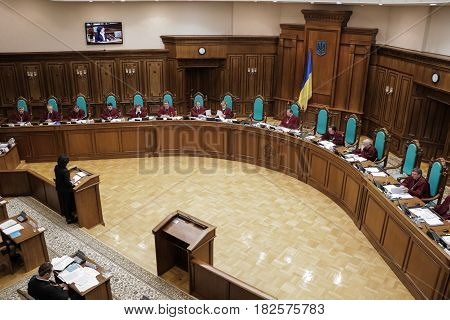 Constitutional Court Of Ukraine