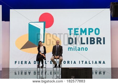 Journalists At Tempo Di Libri In Milan, Italy