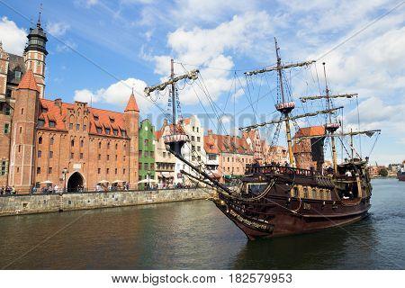 Gdansk Cruise Boat Poland
