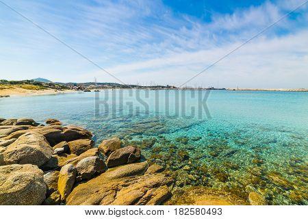 Clouds over Spiaggia del Riso in Sardinia