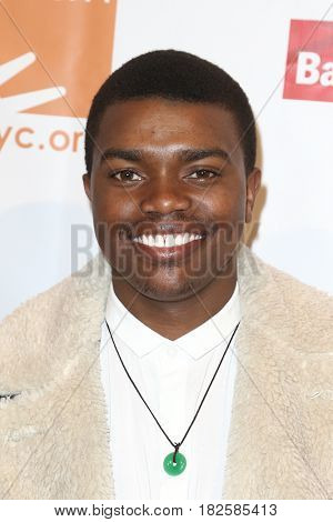 NEW YORK-APR 19: Actor Marc John Jeffries attends the Food Bank for New York City's Can-Do Awards Dinner 2017 at Cipriani's on April 19, 2017 in New York City.