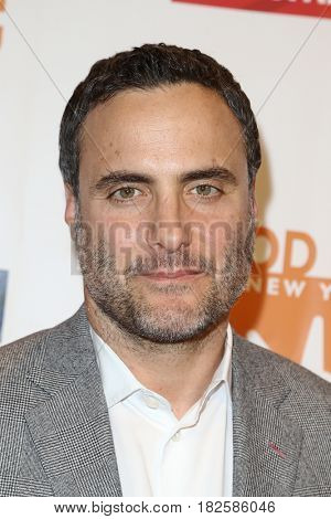 NEW YORK-APR 19: Actor Dominic Fumusa attends the Food Bank for New York City's Can-Do Awards Dinner 2017 at Cipriani's on April 19, 2017 in New York City.